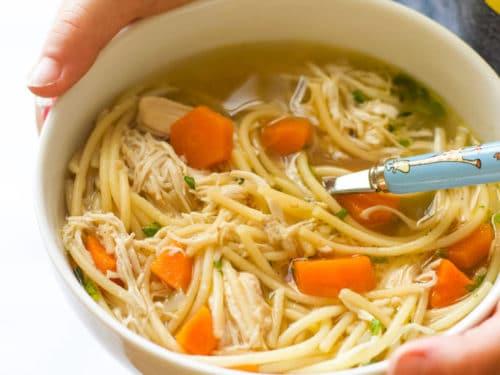 Chicken Noodles Soup - چکن نوڈلز سوپ