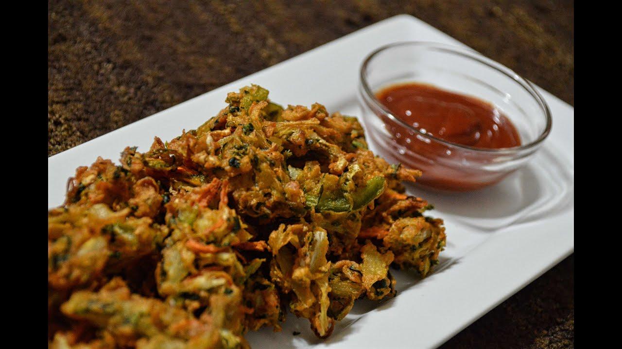 Spicy Vegetables Pakoray - چٹپٹے سبزیوں کے پکوڑے