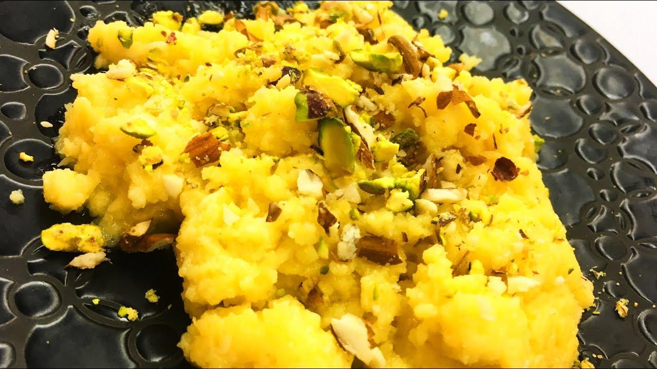 Egg Khoya Halwa - انڈے کا کھوئے والا حلوہ
