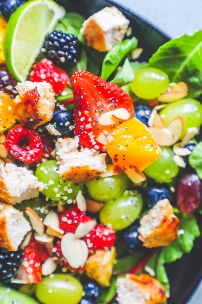 Chicken Fruit Salad - چکن فروٹ سلاد