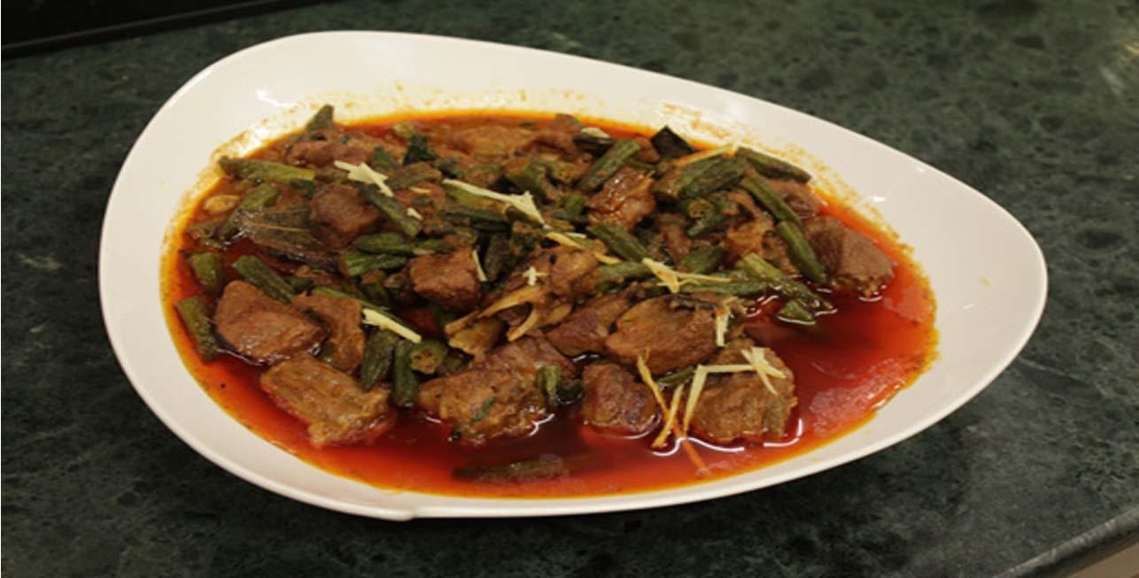 Bhindi Gosht Qorma - بھنڈی گوشت قورمہ