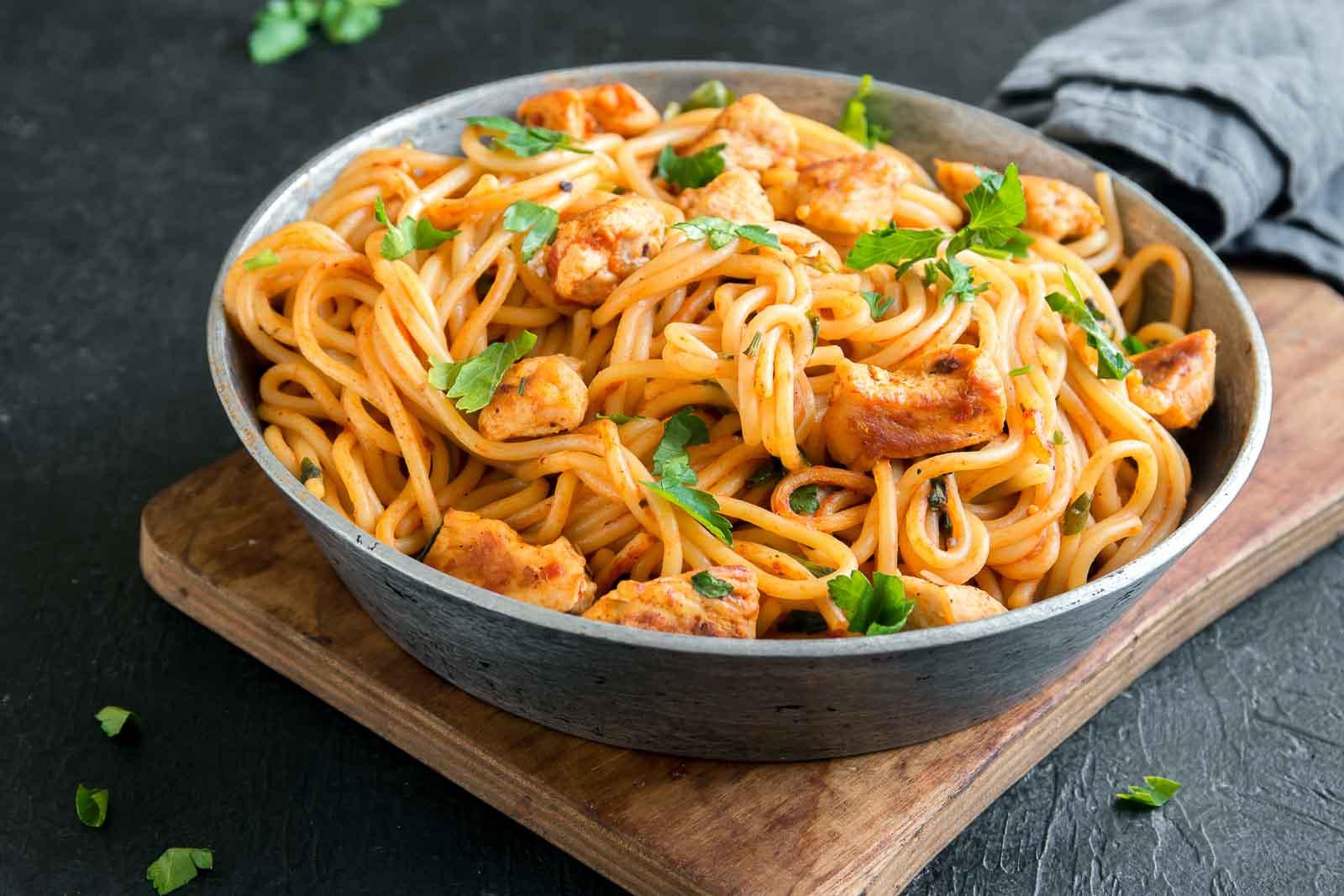 Chicken With Spaghetti - چکن اسپیگھٹی