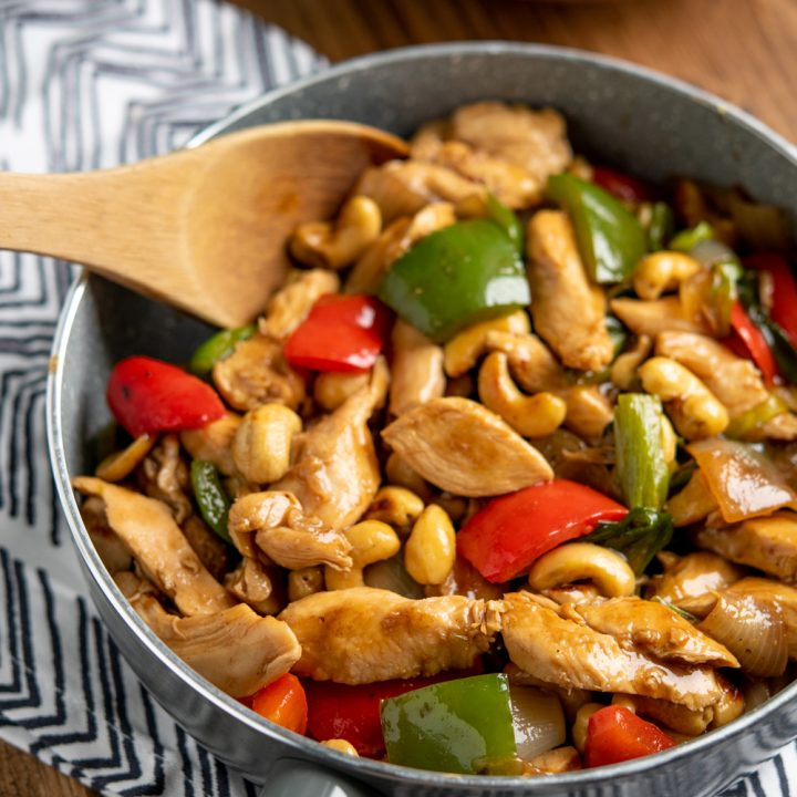 Chinese Cashew Chicken - چائنیز کاجو چکن