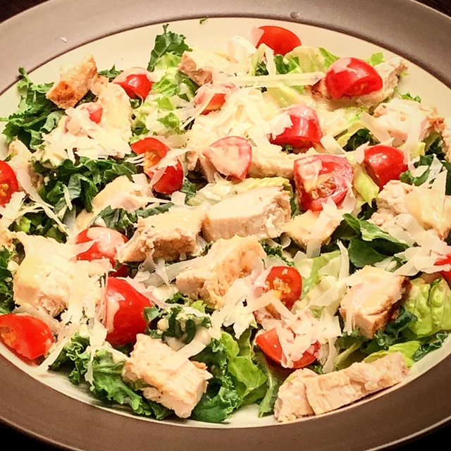 Chicken Caesar Salad - چکن سیزر سیلیڈ