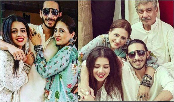 Zara Noor Abbas Family pictures