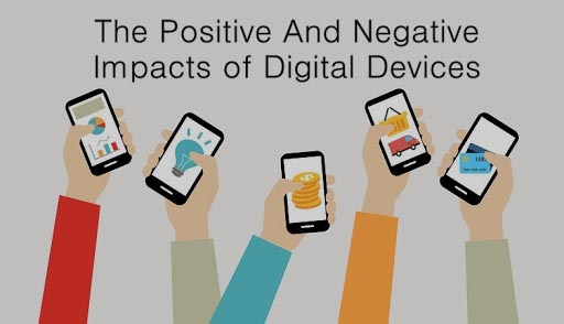 Negative and Positive Impacts of using Mobile Phones