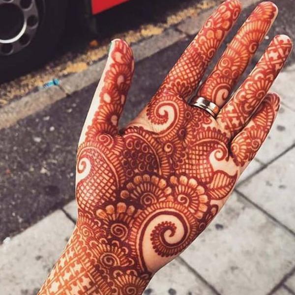 Palm Mehndi Designs