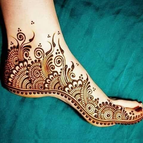 feet Mehndi designs for eid