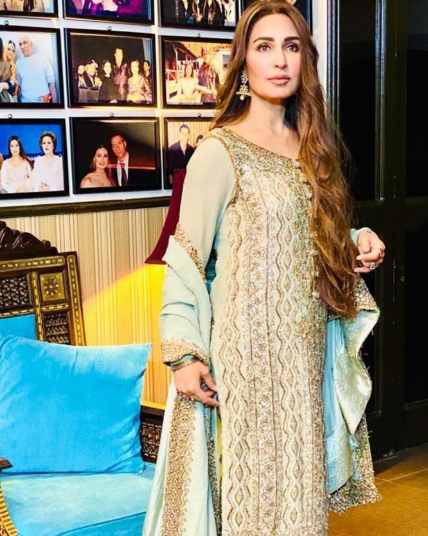 Iqra Aziz and Yasir Hussain in Reema Khan Ramazan Special Show