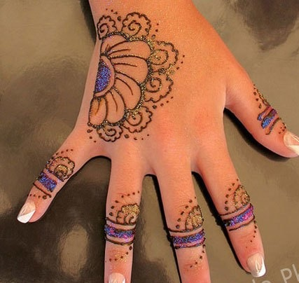 Latest Eid Ul Fitr Mehndi Designs 2018 For Kids