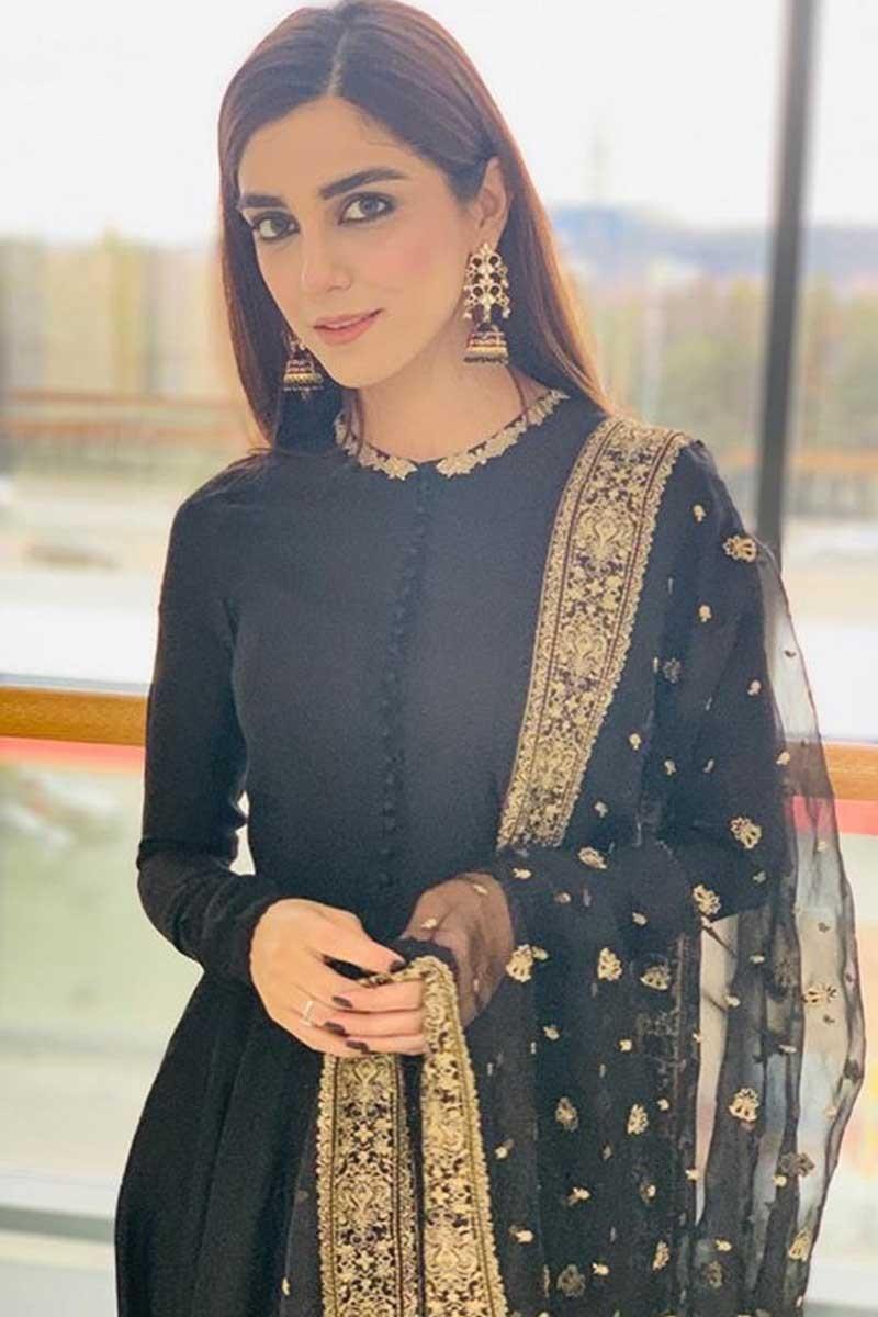 Maya Ali Black Dress