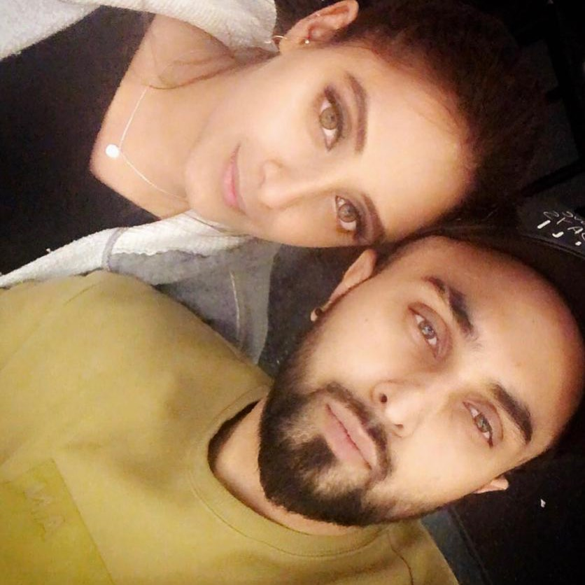 Sanam Chaudhry with her Husband Somee Chohan