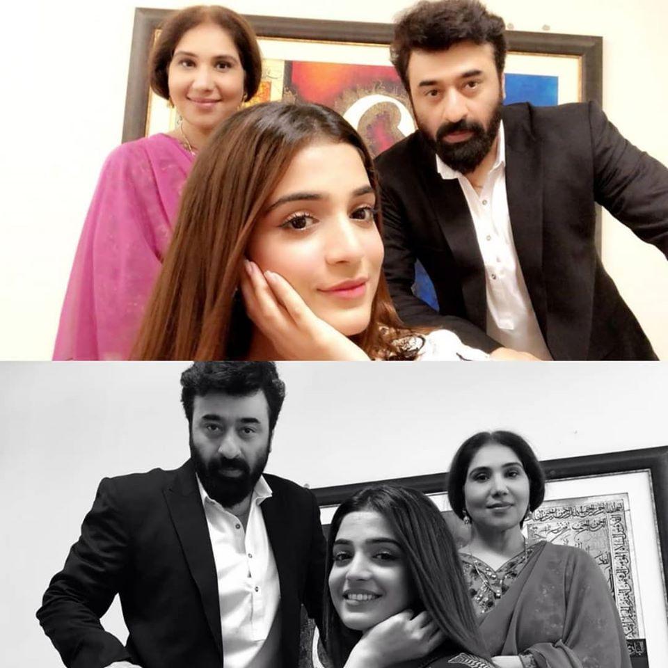 Beautiful Clicks of Actress Sadia Faisal with her Son