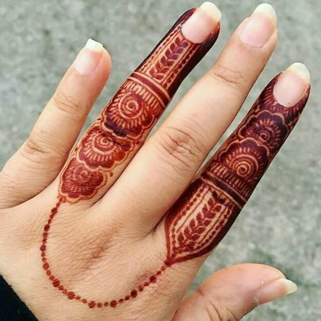 Simple Mehndi Designs for eid