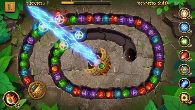5. Arcade: Jungle Marble Blast