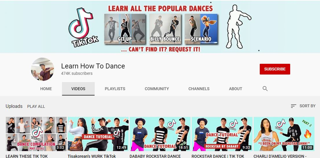 1. Learn Fortnite, TikTok, and Trending Dances Online for Free at Learn How to Dance
