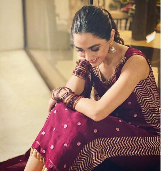 Beautiful Maya Ali Leatest Instagram Picture