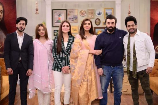 Alizeh Shah, Nouman Sami, Yasir Nawaz, Anam Tanveer, and Naveed Raza joined Nida Yasir Morning Show to talk about the success of the show.
