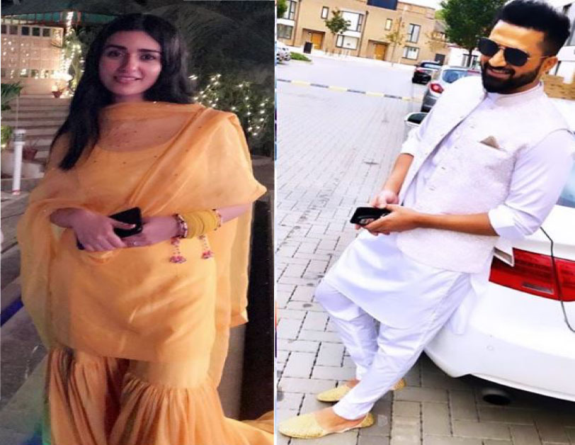 Falak Shabir and Sarah Khan Mayun Pictures