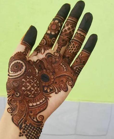 Full Hand Mehendi Design
