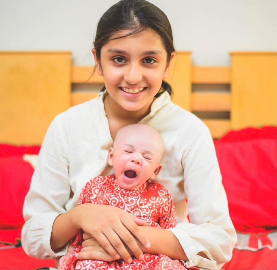 Ayeza Khan Sister