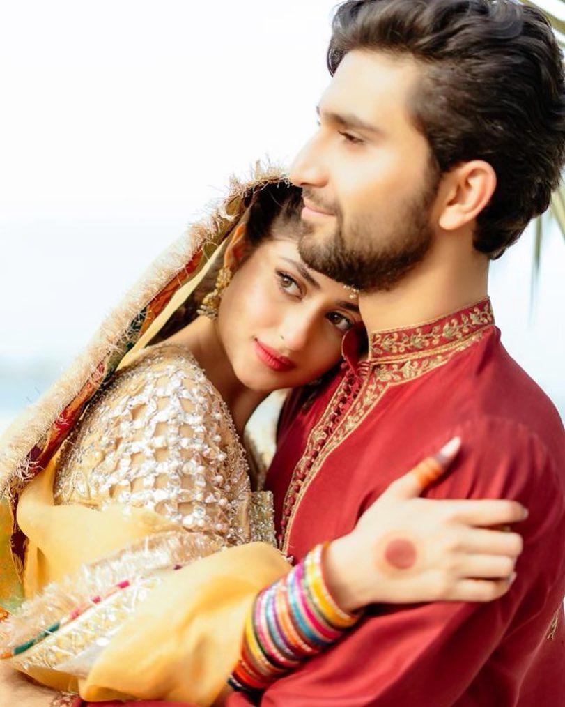 Ahad Raza Mir Wedding Pics
