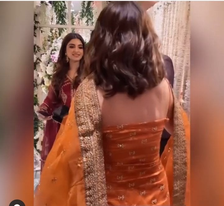 Criticism on Saboor Aly's Backless Dress