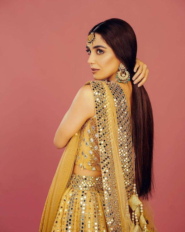 Elegance Maya Ali Flaunts in Her Last Bridal Shoot