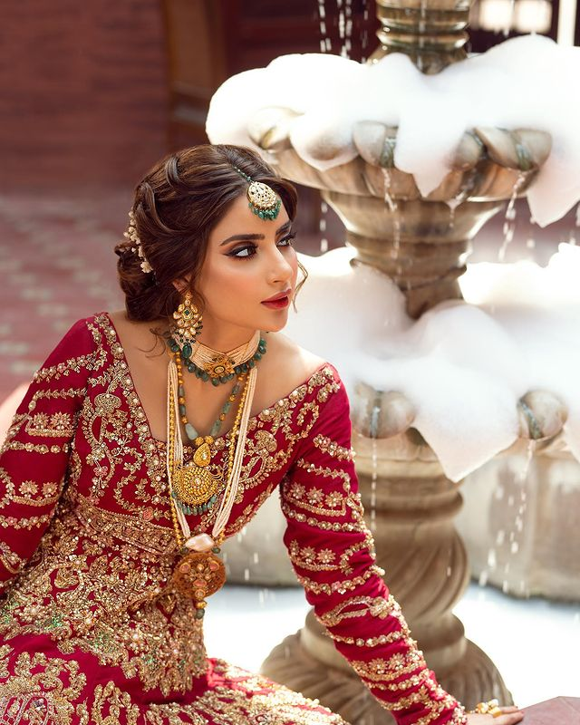 Saboor Ali bridal Shoot