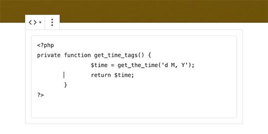 Display code wordpress plugin