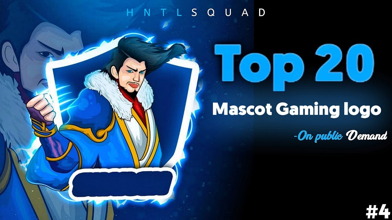 top-20-gaming-logo-mascot-free