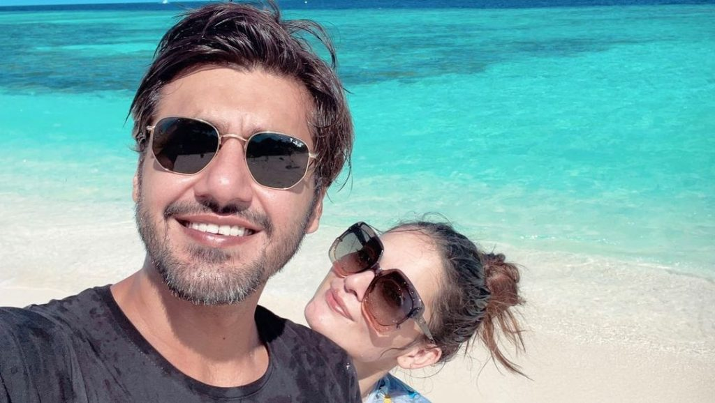 Minal and ahsan mohsin Honeymoon