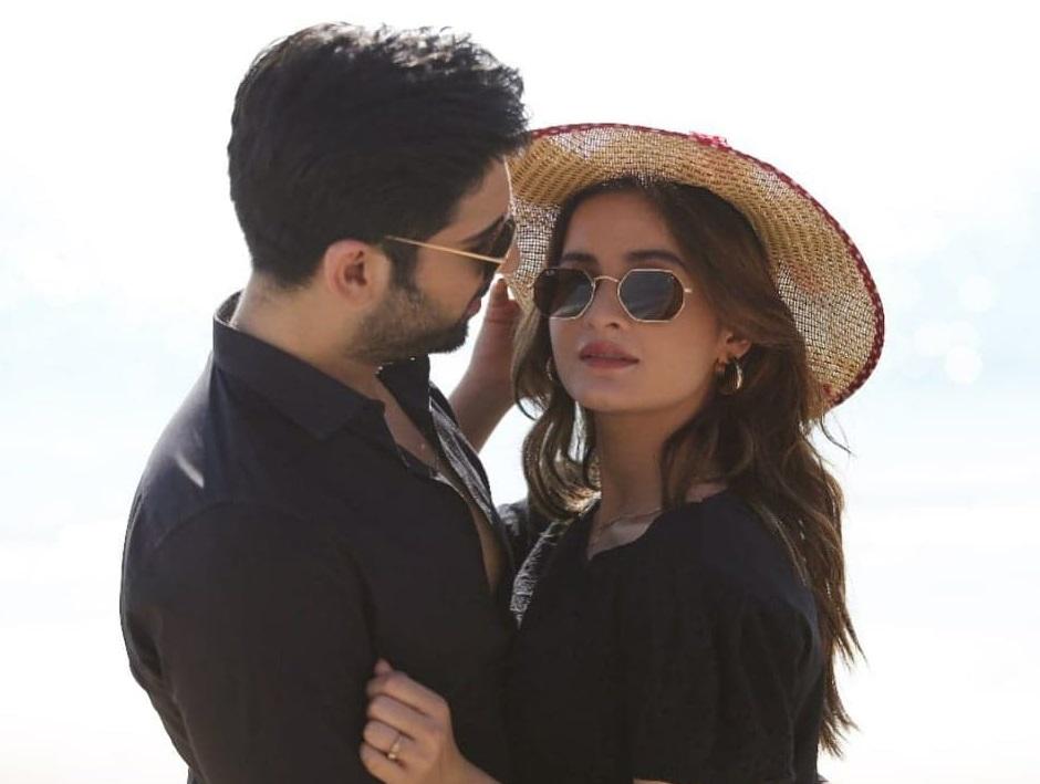Muneeb Butt and aiman khan