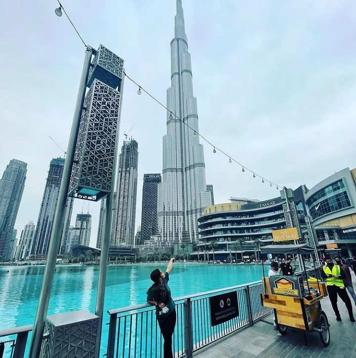 Minal Khan And Ahsan Mohsin's Honeymoon Pictures From Dubai
