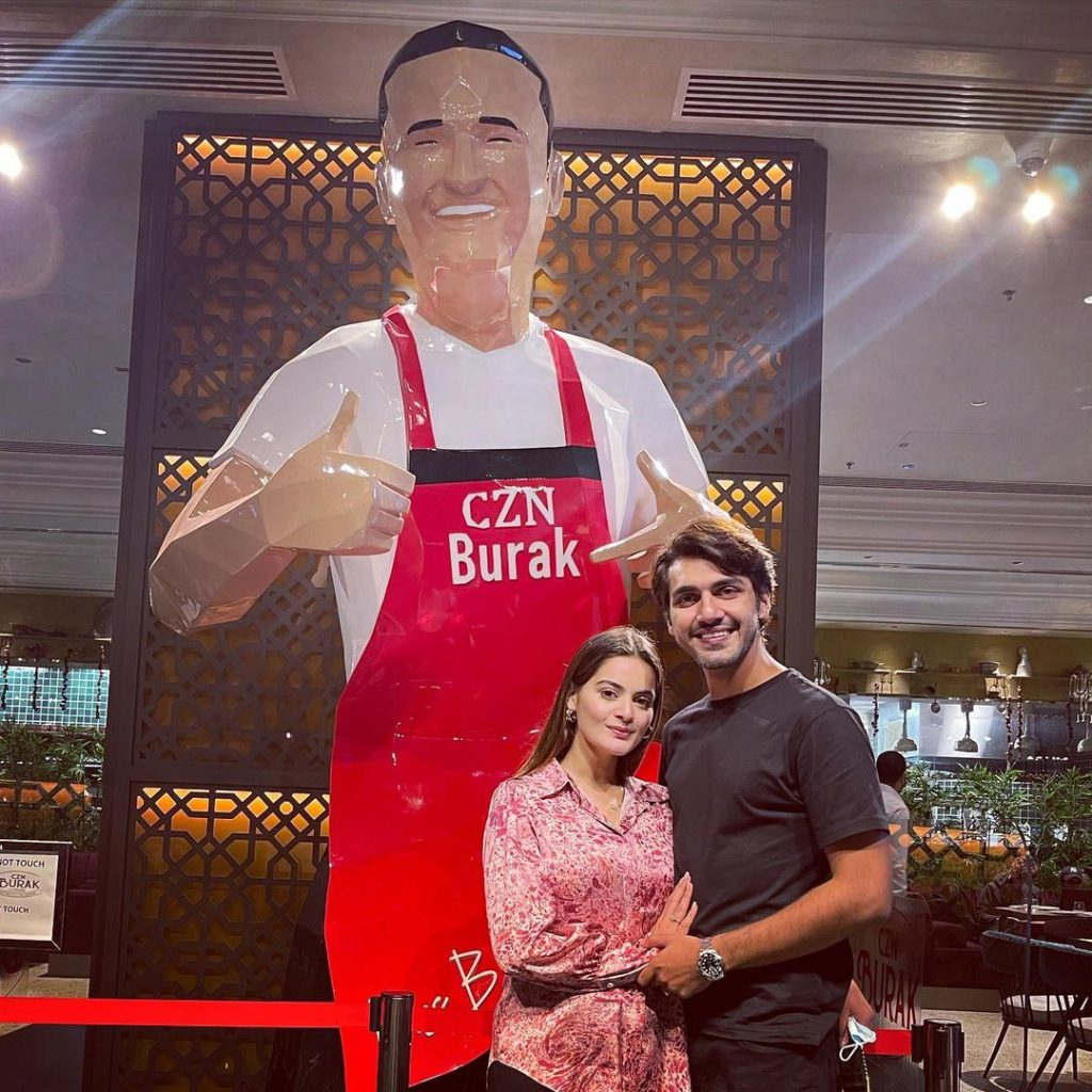 Pictures Of Minal And Ahsan From Dubai
